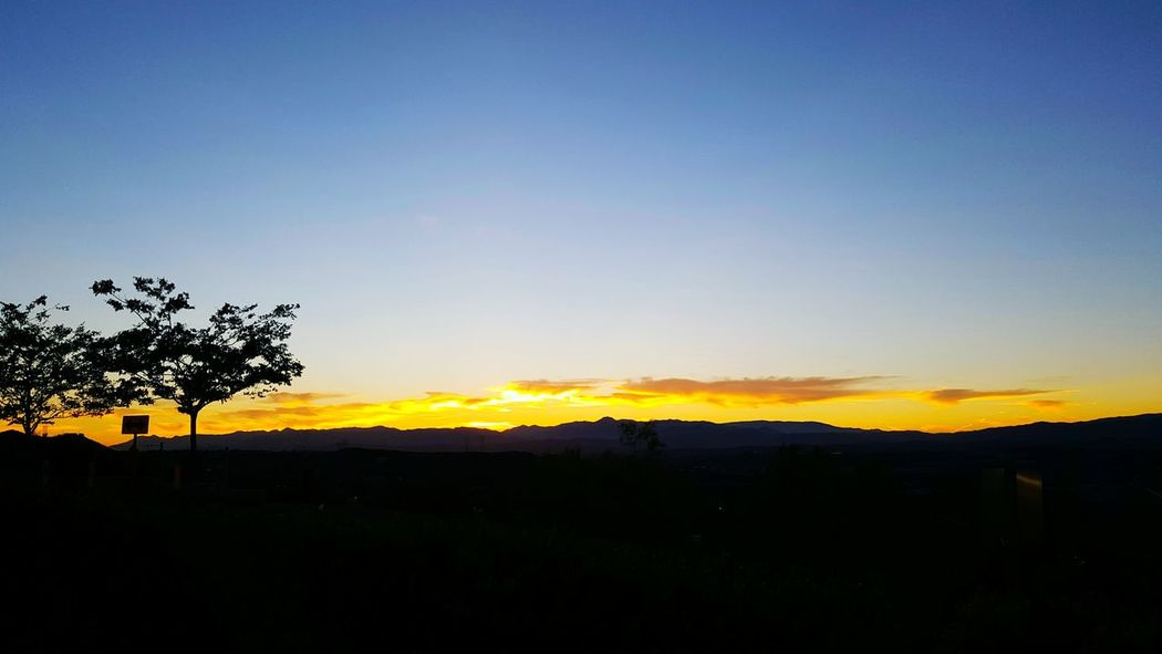Gotta catch em all Sunsets Sunset Silhouettes Sunset West Side Horizon Mountain View 1st night of the Sand Fire other side not looking so good