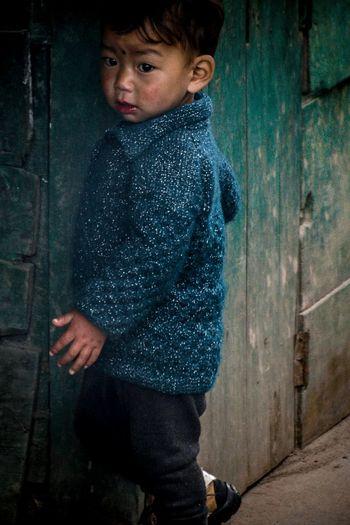 Portraits Of EyeEm Zimithang Portrait Arunachal Pradesh Warm Clothing Love Portrait Portrait Photography Portrait Of A Child Tawang Teal Sweater Kidsphotography Human Hand Childhood Standing Child Close-up Children Asian  Innocence Babyhood Baby Clothing Kid Colorful