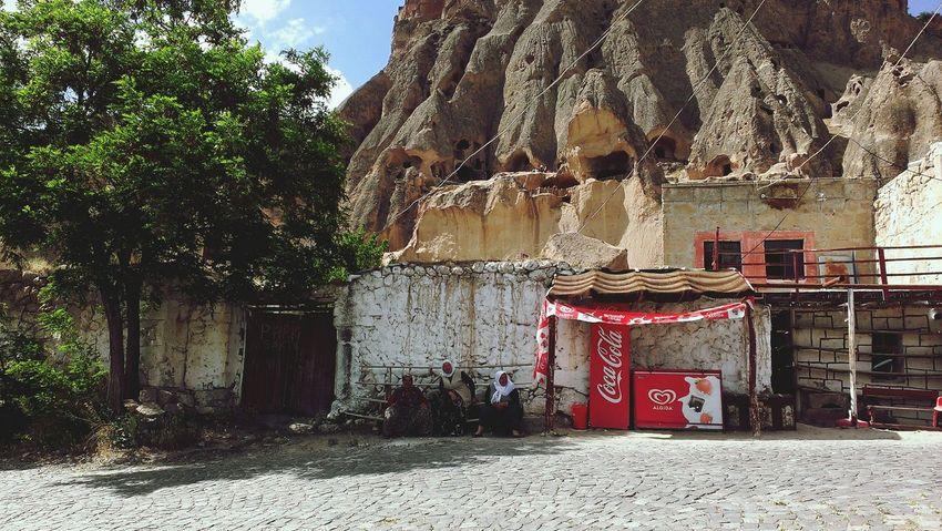 Depth Of Field Cokecola Cappadocia Turkey