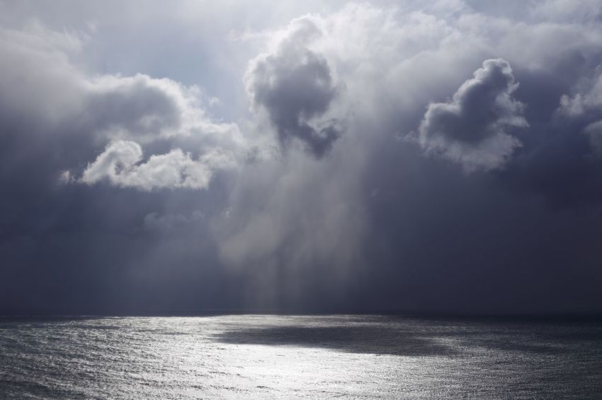 Cloud - Sky Sea Beauty In Nature Scenics Weather Nature Water No People Sky Day