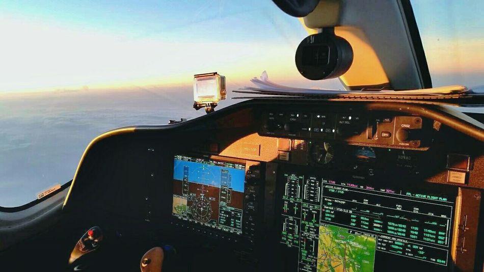 Enjoying Life Airplane Aircraft Flying Citation Mustang Bangkok Sky