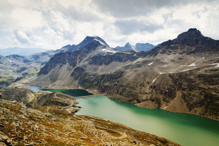 Alps Alpen Alpine High Mountain Treking Hiking Tirol  Travel Photography Adventure Alpinism Alps Beauty In Nature Idyllic Lake Mountain Mountain Range Nature No People Outdoors Physical Geography Scenics Tranquil Scene Tranquility Travel Destinations Water Waterreservoir