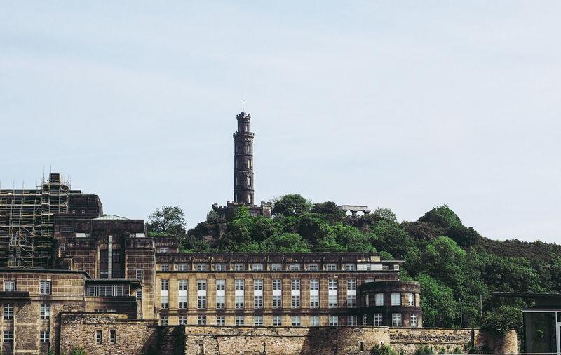 Calton Hill in Edinburgh Architecture Calton Hill Edinburgh Scotland Scottish Calton Hill Monument Classical Column