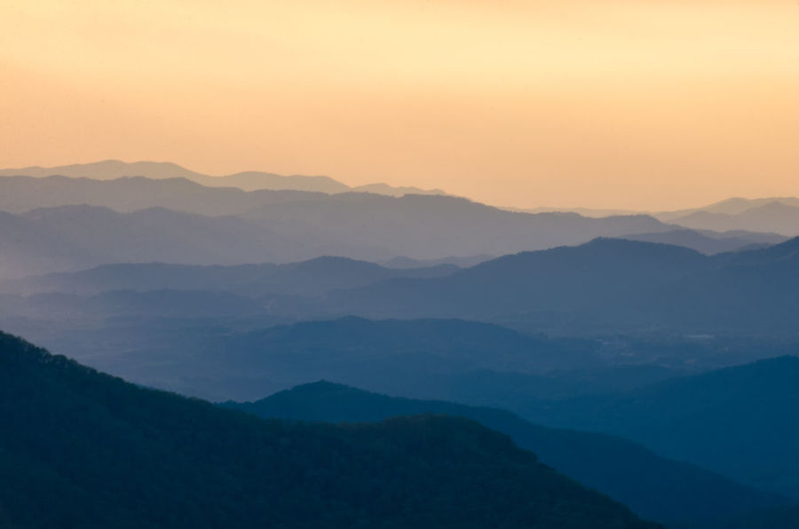 Beauty In Nature Blue Ridge Mountains Craggy Gardens Day Fog Hazy  Idyllic Landscape Mountain Mountain Range Nature No People Outdoors Scenics Silhouette Sky Sunset Tranquil Scene Tranquility