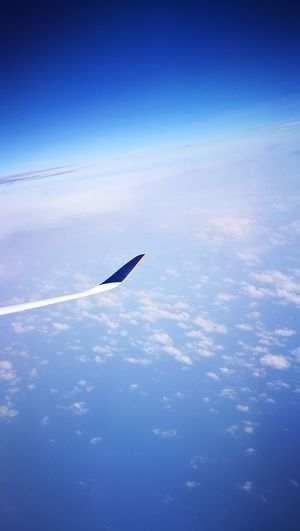 Blue Sky No People Day Airplane Airplane Wing Airplane Window Airplaneview Airplane In The Sky Airplane Window View Airplane Clouds Sky And Clouds Sky And Sea Sky Photography Plane Window Plane Wing Planewindowview