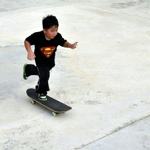 Little man ripping pavement Brunei Skatepark InstaBruDroid Andrography