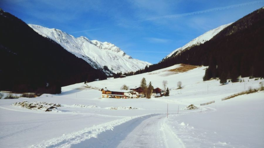 Wunderschönes Gsieser Tal :) Snow Nice Atmosphere Landscape Landscape_Collection LoveNature Nature_collection Rural Scene No People Sunnyday☀️ Niceview White And Blue Snowboarding Mountain Snow Cold Temperature Winter Ski Lift Snowcapped Mountain Road Mountain Peak Pinaceae Winter Sport Deep Snow Powder Snow Ski Holiday