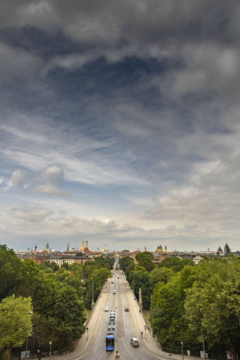 Cityscape of munich city, germany