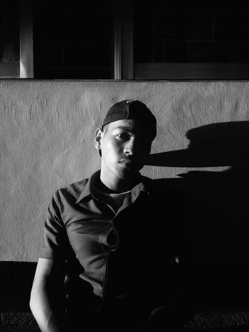 Depression - Sadness Portrait Mobilephotography Mobile Phone Photography EyeEm Best Shots The Week On EyeEm Eyeem Philippines Sunlight PortraitPhotography Portraitshot Close-up One Person Inner Power