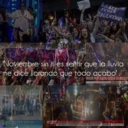 "Ninemonths NueveDeNoviembre ICantBelieveIt 9/11/13 ""it was the best day of my life"" ? ? BELIEVEtour"