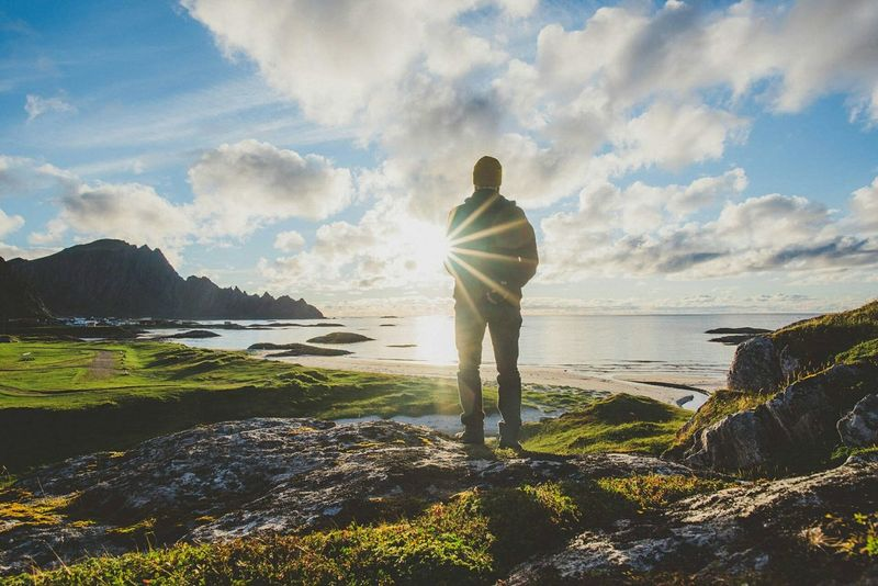 You have reached your destination. Andenes, North Norway Whale Trail Tour Norway North Sunset Sunset Light Self Portrait Travel Photography Travel . Edge Of The World The Great Outdoors - 2016 EyeEm Awards Let's Go. Together.