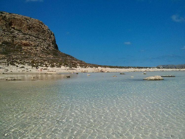 Balos Lagoon Sea Beach Clear Sky
