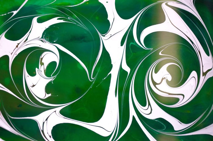 (Instagram: @iamJosway) Michigan State Msu Go Green Detroit Marble Marbling White Green Close-up No People Art And Craft Pattern Backgrounds Representation Full Frame Indoors  Green Color Creativity Drawing - Art Product Still Life High Angle View Retro Styled The Still Life Photographer - 2018 EyeEm Awards
