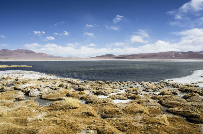 Peace Beach Beauty In Nature Cloud - Sky Environment Land Landscape Mountain Nature Non-urban Scene Rock Salt Flat Scenics - Nature Sea Sky South America Tranquil Scene Tranquility Water