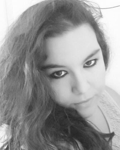 Me :)  MeMyself&I Longhair Selfie ✌ Girl Blackandwhite That's Me Selfportrait Ben Sadeceben