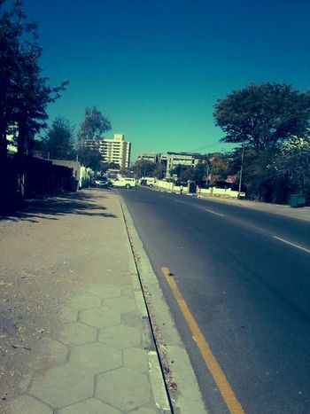 Open empty streets... Outdoors Taking Photos Backstreets & Alleyways