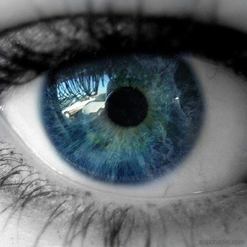 Esos ojos veían los que los otros no podían