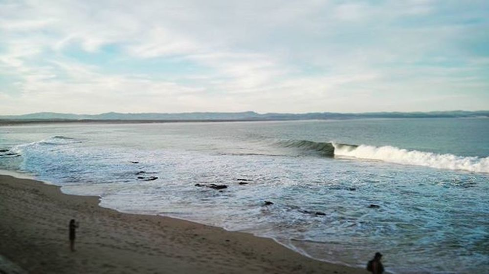 As rough as the ocean that carries us deep, I'll swim with you still, wherever you lead... For my loved one. Iloveyou Mylove Inlove Forlove Imissyou Ocean Sand Shore Longing Clouds Waves Jeffreysbay Tides Blessed  Myhome Whataview Hadtoinstagramthis @erny215