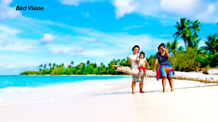 Finding New Frontiers HuaweiP9 Beach Sky Landscape Ocean Kiribati