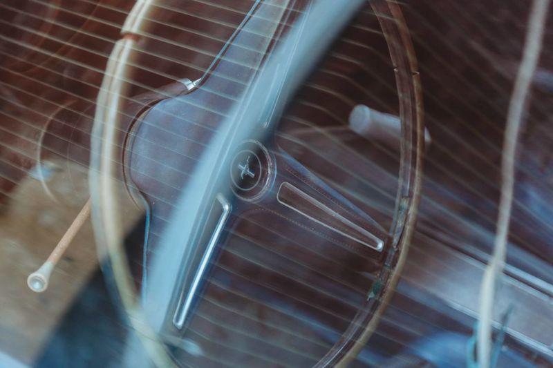 Detail shot of metal