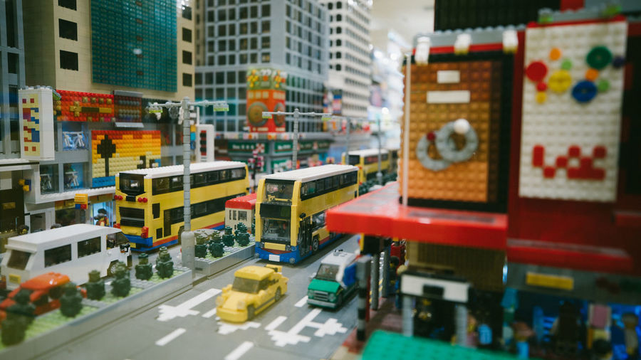 LEGO City Building Exterior Architecture Mode Of Transportation Road Transportation Built Structure Motor Vehicle Car Street Building Selective Focus City Street City Life Day Sign No People Public Transportation Outdoors Office Building Exterior