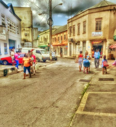 A Trek Into The Capital. Watching People People Around You Hanging Out Enjoying Life Taking Photos People Photography Fine Art Photography Color Explosion Walking Around The City  Welcome To My World Beautiful People Live Love Shop Bridgetown Barbados 2016