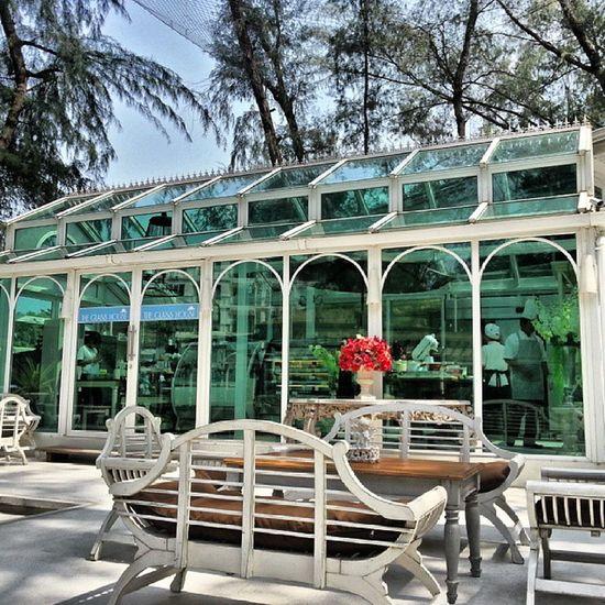 Da glass house Glass House Restaurant Pataya Thailand family vacation trip weekend