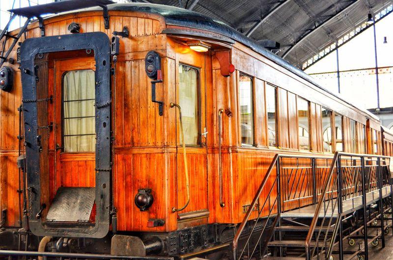 Old Train Wood Train Train - Vehicle Rail Transportation Passenger Train Public Transportation Train Train Track Steam Train