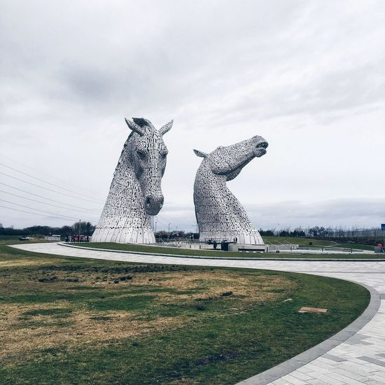 TheKelpies Scotland VisitScotland ILoveScotland Scupture Art ArtWork Travel Mytinyatlas