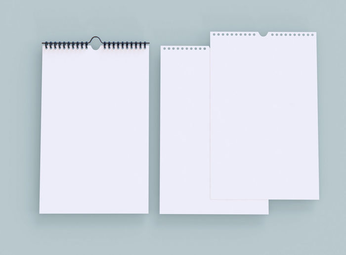 Close-up of open book against white background