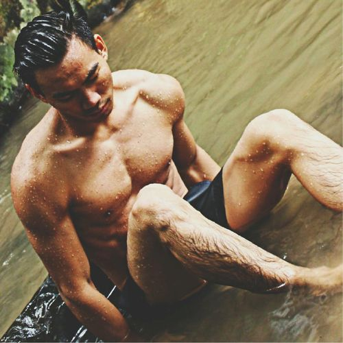 Like the river run.. Relaxing That's Me Check This Out Hi! Posing For The Camera Antisocial