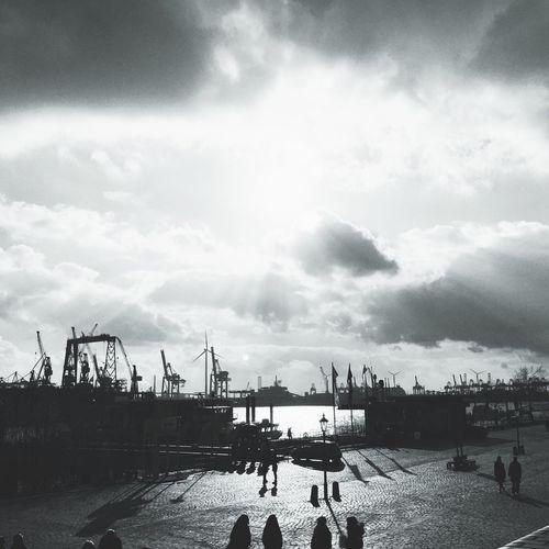 Fischmarkt Hamburg Elbe