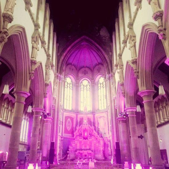 Gorton Monastery, Manchester Architecture Purple Religion Place Of Worship Arch Gorton Gortonmoniastery Manchester Beautyeverywhere