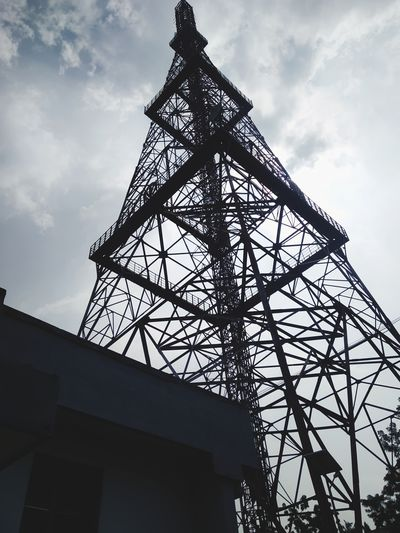 Low angle view of a tower