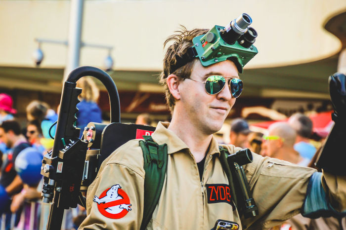 Ghostbusters Arts Culture And Entertainment Cap Character Costume Day Focus On Foreground Large Group Of People Men Outdoors People Real People Standing Sunglasses Young Adult The Photojournalist - 2018 EyeEm Awards The Photojournalist - 2018 EyeEm Awards The Portraitist - 2018 EyeEm Awards The Street Photographer - 2018 EyeEm Awards