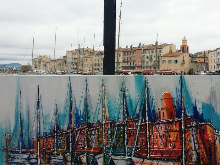 Sainttropez Saint Tropez France Tableaux Tableau Quadro Cotedazur Costaazzurra Art Artistic Photo