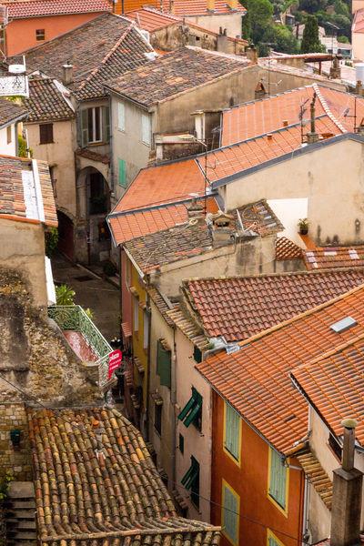 Roof Architecture Roof Building Exterior Outdoors Built Structure Day No People Tiled Roof  Côte D'Azur France🇫🇷 France View Architecture Rain Roquebrun Roquebrune-Cap-Martin