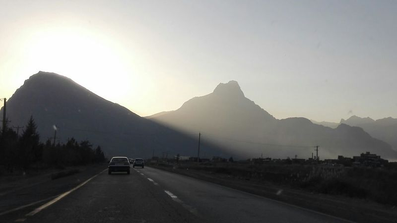Iran♥ Kermanshah Mountain Mountain Road Road Car Landscape Highway No People Road Trip Outdoors Travel Destinations
