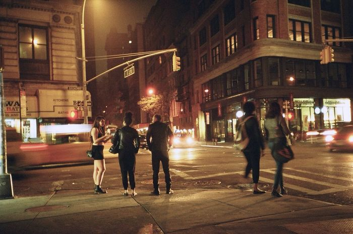 Eastvillage Newyork NYC NYC Photography Manhattan Streetphotography Night Night Lights Film Filmisnotdead