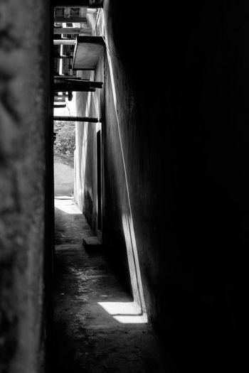 Walkway in corridor