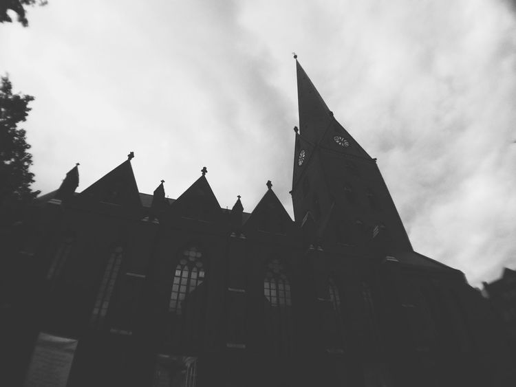 Mission Mystery Bremen Chruch Black And White