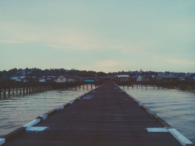 Kampung atas air Kota Balikpapan Kampung Baru Nvhsnddn Landscape