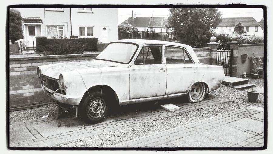 Car PornVintage car in Linwood, United Kingdom