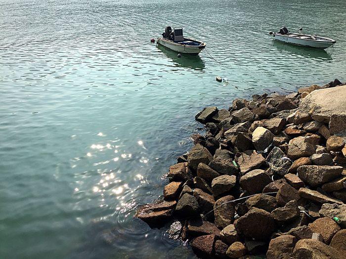 Shiny Day Waterfront Discovery Bay ASIA I Love Hong Kong EyeEm Hong Kong Boats Walking Around Wandering Around Aimlessly Sunny Afternoon EyeEm Gallery Water_collection Lovely Day HongKong