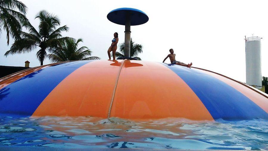 Piscina Pool Fun Diversão Bolha Bubble Sun Sol Agua Water Parqueaquatico Waterpark Thermasdoslaranjais Olímpia-SP São Paulo Sao Paulo - Brazil
