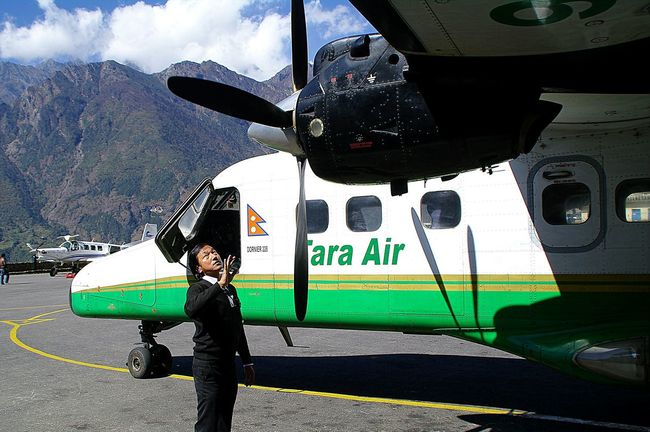 Close Up Technology One Person Air Vehicle Outdoors Airplane Lukla Airport Samsung Gx20 Streamzoofamily Travel Photography Details Of My Life