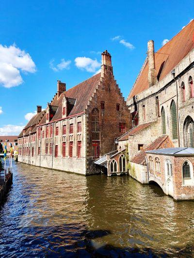 Brugge Home Casa Belgique Belgium Brugge Belgio, Bruges Belgio Fiume River City Citta