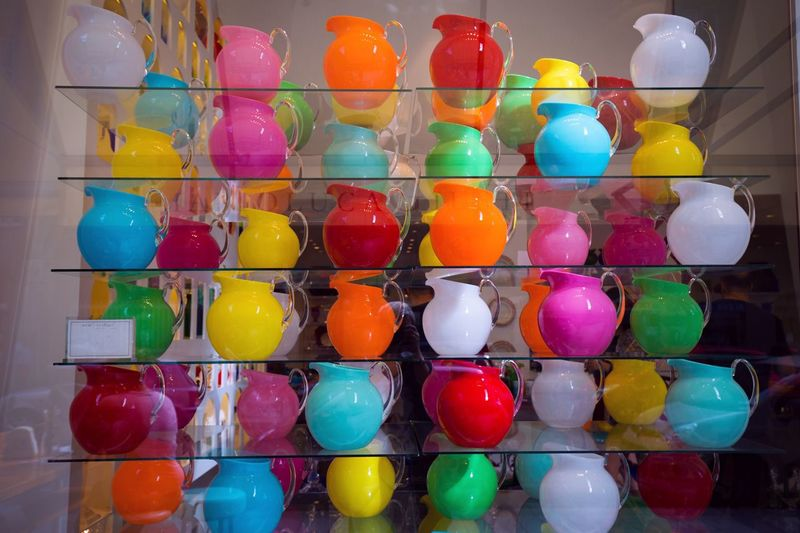 Multi Colored Variation Indoors  Still Life Large Group Of Objects In A Row Choice Sweet Food Colorful Collection Food And Drink Arrangement Unhealthy Eating For Sale Bowls Candy Abundance Freshness Retail  Vibrant Color