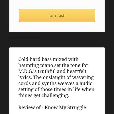 Feedback on KnowMyStruggle hit the website to check out news music blogs n Shit LiveItBrands