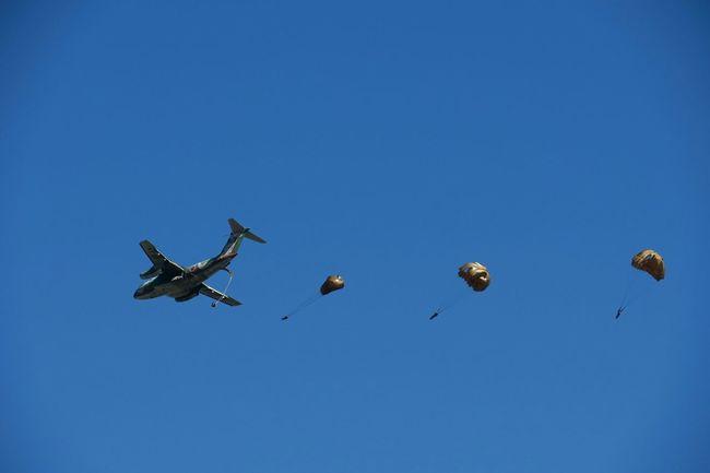 第一空挺団 JGSDF Airborne Brigade Taking Photos Lookingup Sky PowerShot G3 X